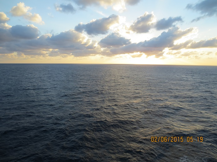 A day trip on sea