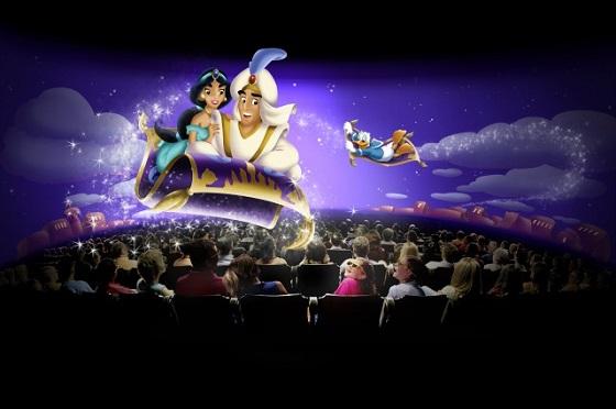 等待时间:几乎为零 推荐指数:★★★★★ 3D环幕电影音乐会,改编自迪士尼的卡通电影《幻想曲》,动画与交响乐的完美结合,诙谐幽默。又因为是影院,所以一批能进很多游客,无需等待,力荐!!!